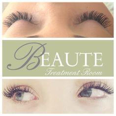 Eyelash extensions BEAUTE ROOM Beauty  Lashes