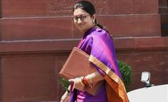 HRD Minisiter Smriti Irani wants ancient texts in education