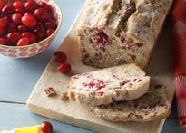 Cranberry Pecan Sour Cream Bread