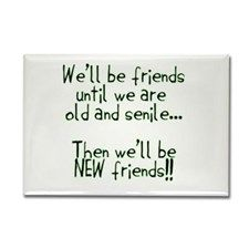 Friends Rectangle Magnet for