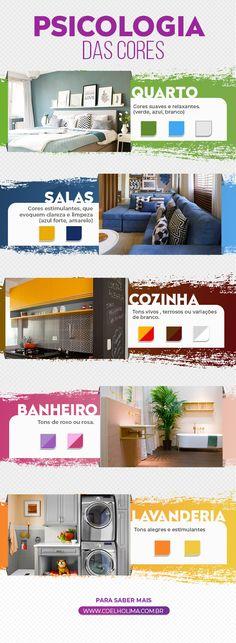 Psicologia das cores: o que as cores dizem sobre a sua casa?