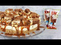 Butterkeks Kuchen - Butterkeks Torte / Butterkekskuchen / Bisküvili Yas Pasta Tarifi - YouTube
