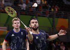 Chris Langridge and Marcus Ellis have won a bronze medal in the men's doubles…