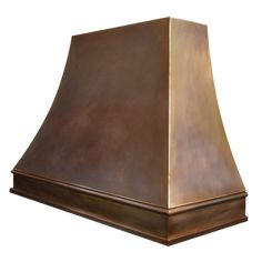 custom bronze range hood Texas Lightsmith Model#4, A - variation 4