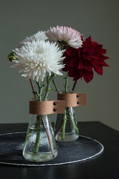 DIY vase with cork -