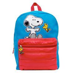 Kids Peanuts Snoopy & Woodstock Backpack, Multicolor