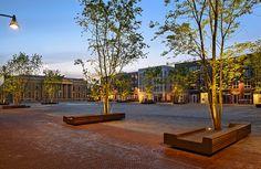 Wilhelmina Square, Leeuwarden, the Netherlands