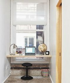 Small Spaces Addiction: 10 Ideas Small Office