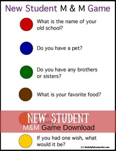 New Student M&M Game Download