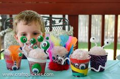 Monster Craft and Healthy Snowcones #MUJuice