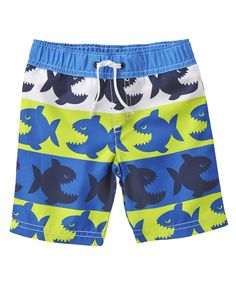 Piranha Fish Swim Trunks at Crazy 8