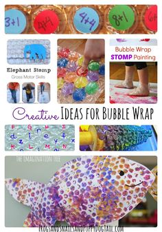 Creative Ideas for Bubble Wrap for Kids on FSPDT