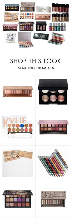 """""""makeup b"""" by cuteoutfits4you on Polyvore featuring Urban Decay, Kylie Cosmetics, Witchery, Anastasia Beverly Hills, Morphe and Huda Beauty"""