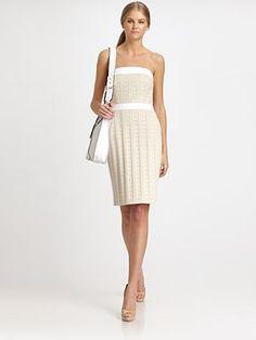 carly strapless dress...