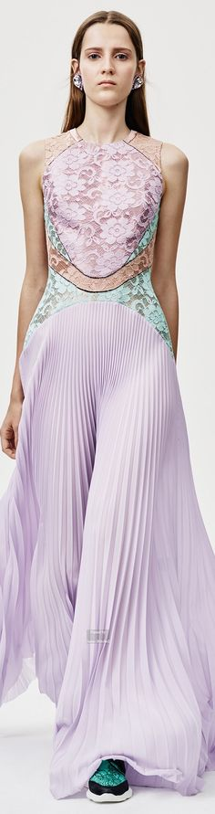 Christopher Kane Pre Spring 2016 collection women fashion outfit clothing style apparel @roressclothes closet ideas