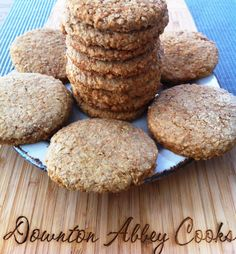 Scottish Oatcakes | Downton Abbey Cooks. Would Carson sneak one of these to his room? The thought would never occur to him.