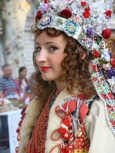 bride - national costume of Zagreb - Šestine