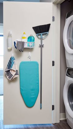 Transform a door or empty wall into a storage area with these damage-free, small-space solutions thanks to Command™ Brand hanging solutions. Command™ Spray Bottle Hanger, Command™ Spring Clip…More Closet Organization, Kitchen Organization, Organization Ideas, Small Space Solutions, Neat And Tidy, Home Hacks, Cleaning Supplies, Cleaning Supply Storage, Home Projects