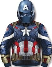 I would wear this all the time! :) #SearsWishlist Marvel® Men's Fleece Hoody from Sears Catalogue  $49.99 Mens Fleece Hoodie, Hoody, Man Thing Marvel, Captain America, Catalog, Fashion Outfits, Superhero, How To Wear, Clothes