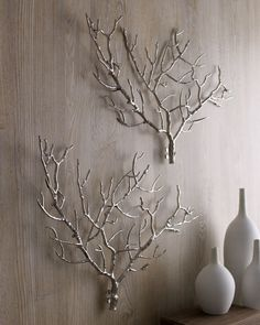 Branches are great wall decorations