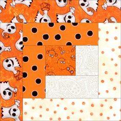 Boo-ligan Ghosts Halloween Quilt Kit Precut