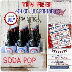 4th of July Printables @ Wait Til Your Father Gets Home #printables #free #4thofhjuly