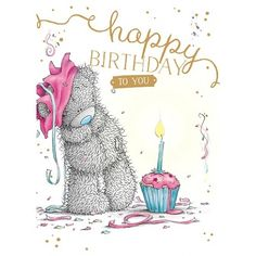 Best Birthday Wishes For A Friend Haha Tatty Teddy Ideas Happy Birthday Bear, Happy Birthday Quotes, Happy Birthday Images, Happy Birthday Greetings, Birthday Messages, Friend Birthday, Tatty Teddy, Nici Teddy, Teddy Bear Pictures