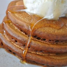 """Grandma's Gingerbread Pancakes I """"Perfect way to start the morning! Delicious old fashioned taste that brings back memories! Kids loved them!"""""""