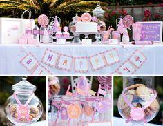 vintage candy shop birthday party | Custom Sweets Shop, Candy Shop Birthday DIY Party Printables by ...