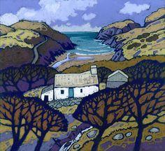 Крис Нил - английский художник-пейзажист и график из Пембрукшира (Уэльс).