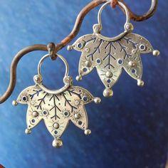 Earrings   Manya Pickard. Sterling silver
