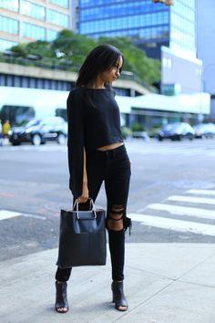 Une tenue parfaite pour aller en ville ! Venez découvrir nos looks sur Nouvelle Collection #nouvelleco #street #look #fashion #women #style