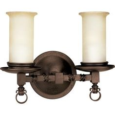 Progress Lighting Santiago Collection 1 Light Forged Black Wall