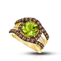 This green is so beautiful! WindsorFineJewelers.com
