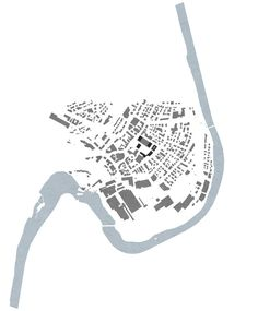 a f a s i a: Caruso St John Architects Site Analysis Architecture, Architecture Mapping, Landscape Architecture Drawing, Architecture Graphics, Architecture Portfolio, Architecture Plan, Caruso St John, Urban Mapping, Location Plan