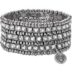 Philippe Audibert Lyse Opulent Bracelet ($431) ❤ liked on Polyvore