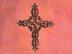 Ornate Fretwork Cross pattern for the scroll saw