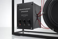 PEOPLE Products Europe - Transparent Speaker