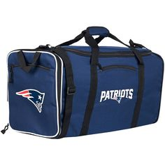 New England Patriots The Northwest Company Steal Logo Duffel Bag - Navy - $39.99