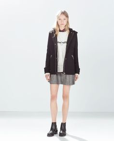 Image 1 of DUFFLE COAT WITH BACK POCKET from Zara