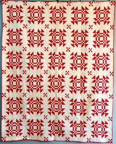 Antique Quilt Handmade GENTLEMAN'S FANCY Nine Patch Early 1900s Cotton Fabric