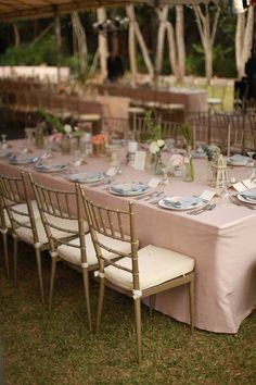 Rustic Spell from Cherryblocks Rustic Garden Wedding, Pastel Shades, Outdoor Furniture Sets, Outdoor Decor, Earth Tones, Simply Beautiful, Table Settings, Backyard, Table Decorations