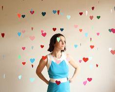 ฉากถ่ายรูปหัวใจกระดาษ