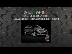 How To Change A Mercedes Benz R350 Key Fob Battery 2007 2017
