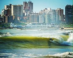 Mar del plata, Argentina. Type of wave: beach break. Direction: right. Bottom: sandy. Level: all. Crowds: few surfers. #surf #surfpics #ocean #beach #surfing #surfspot #sunset #sunrise #travel #greatview #nicepic #waves #fun