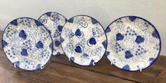 Poole Pottery Blue Vine