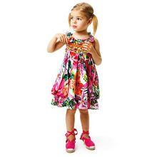 girls dress catimini girl dress 2014 summer French catimini child sleeveless dress swallow sundress shoulder-straps(China (Mainland))