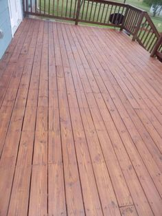 deck makeover big change for 250 00, decks, outdoor living, A few hours later