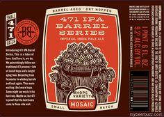 mybeerbuzz.com - Bringing Good Beers & Good People Together...: Breckenridge - 471 IPA Barrel Series - Mosaic