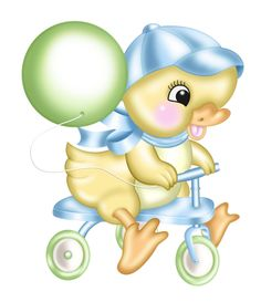 """Photo from album """"Spring Hop"""" on Yandex. Pictures To Paint, Print Pictures, Cute Pictures, Cute Baby Cartoon, Cute Animal Illustration, Baby Clip Art, Baby Scrapbook, Disney Cartoons, Kids Cards"""